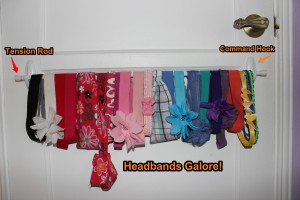 Organizing Wonders- Organized Headbands