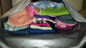 Kids Clothes Ready to Donate